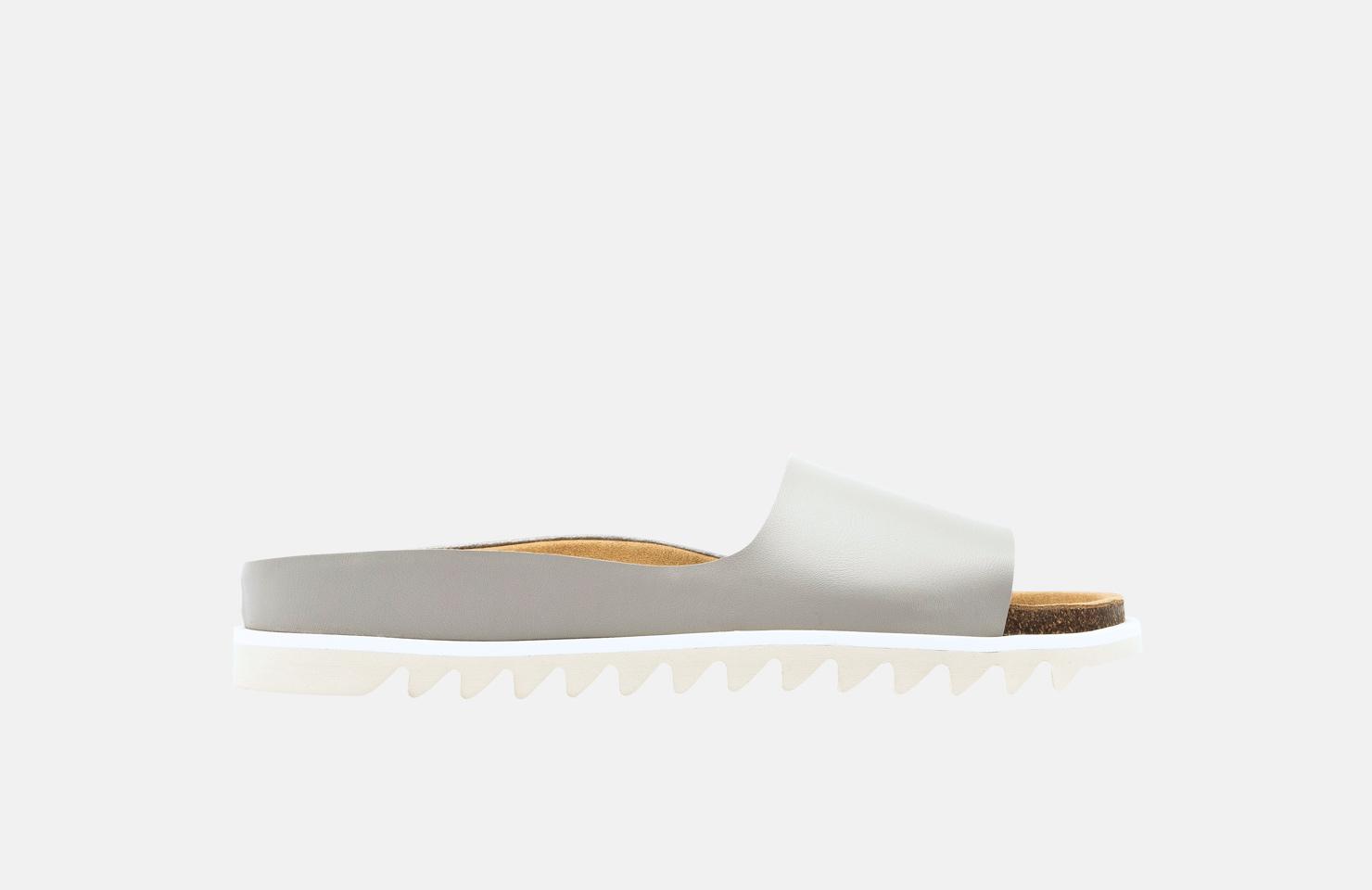 Palm Sandal / Grey Vegan