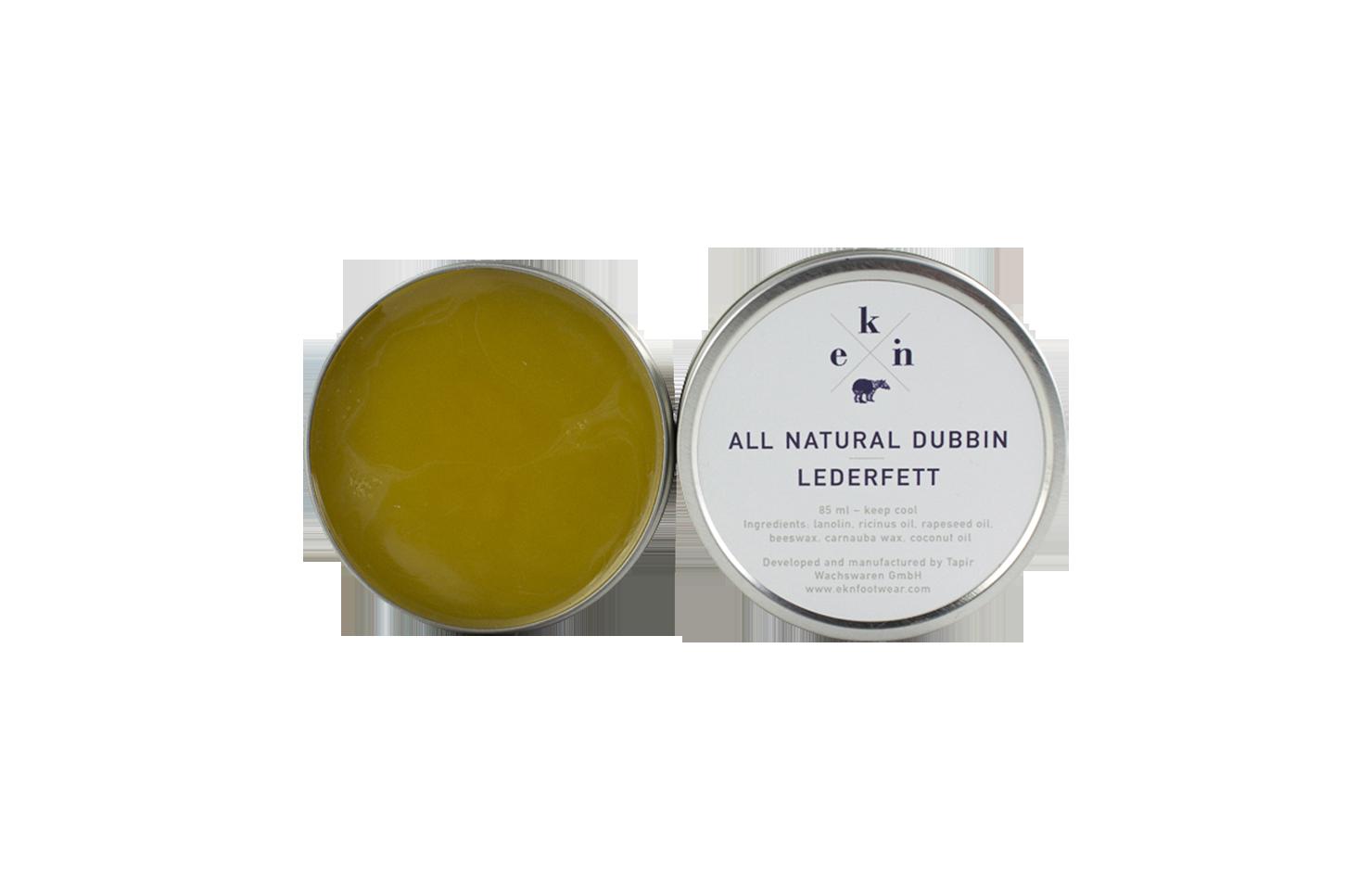 Natürliche Lederpflege / Lederfett - 85 ml