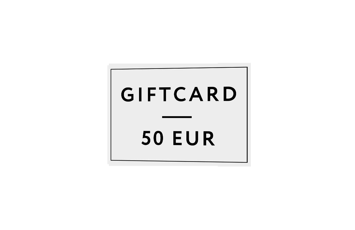 Gutschein / 50 €