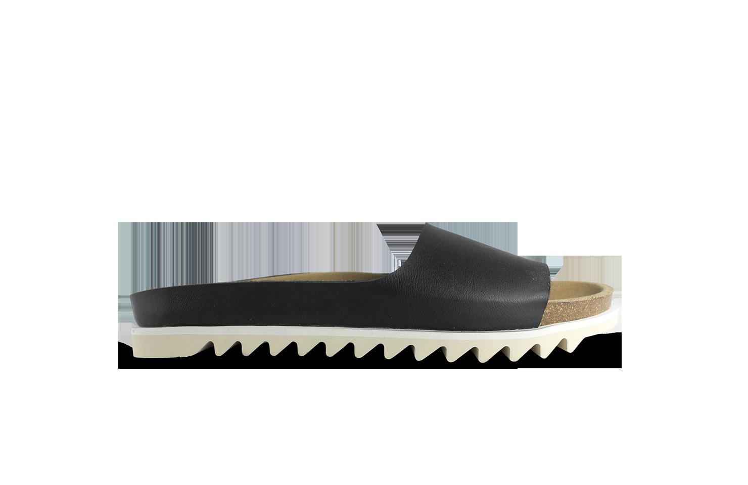 Palm Sandal / Black Vegan