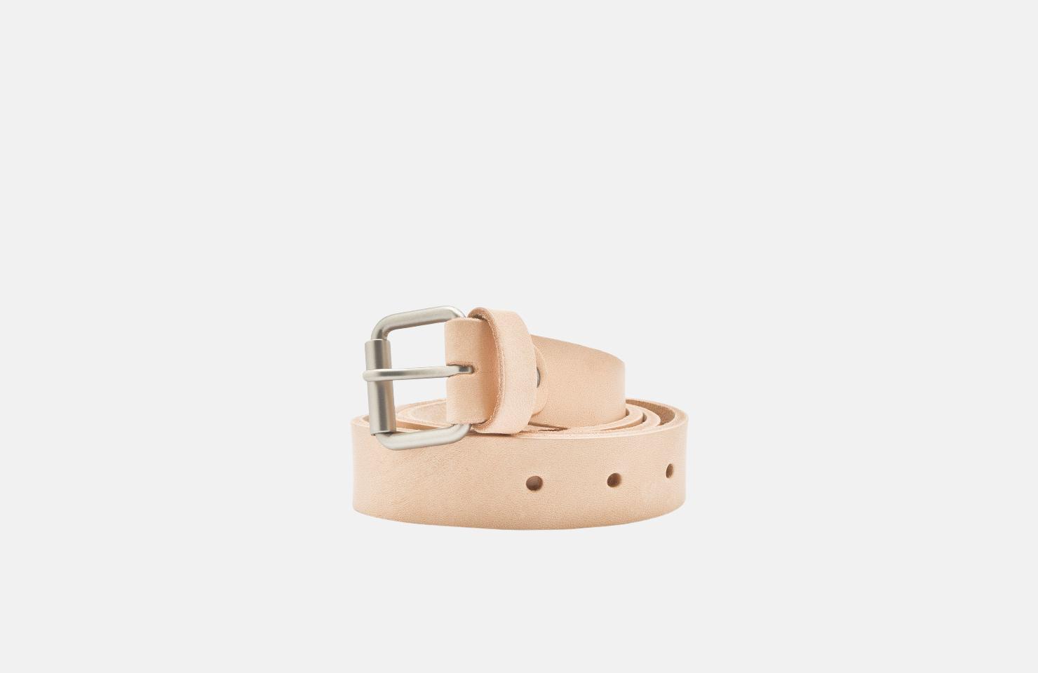 Belt / Natural Leather 3cm